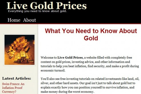 LiveGoldPrices